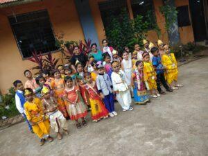 Janmashtami celebration 2017 | Bloomz International School